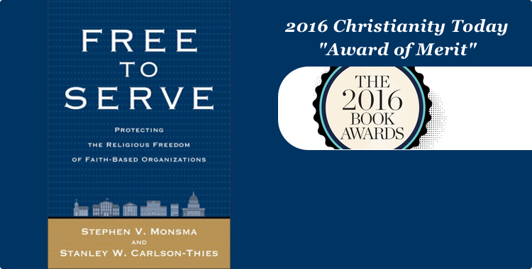 "Free to Serve is ""An Important Book for Our Times"""